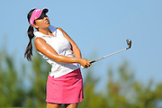 Brianna Do during the first round of the e Symetra Tour's Volvik Championship on the Plamer Course at Reunion Resort on Sept. 20, 2013 in Kissimmee, Florida. <br /> <br /> <br /> ©2013 Scott A. Miller