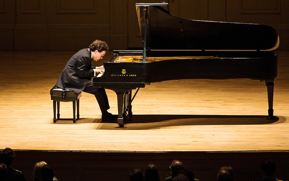 Evgeny Kissin, Symphony Hall, Boston