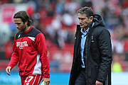 Nottingham Forest manager Philippe Montanier losing 2-1 during the EFL Sky Bet Championship match between Bristol City and Nottingham Forest at Ashton Gate, Bristol, England on 1 October 2016. Photo by Gary Learmonth.
