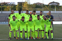 September 17, 2017 - Teramo, TE, Italy - The Ravenna FC team line up for a photo before the Lega Pro 17/18 group B match between Teramo Calcio 1913 and Ravenna FC at Gaetano Bonolis stadium on September 17, 2017 in Teramo, Italy. (Credit Image: © Danilo Di Giovanni/NurPhoto via ZUMA Press)