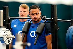 Billy Vunipola of England trains in the gym at Clifton College - Mandatory by-line: Robbie Stephenson/JMP - 15/07/2019 - RUGBY - England - England training session ahead of Rugby World Cup