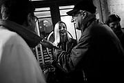 Roberta Lombardi durante la chiusura della campagna elettorale del Movimento cinque stelle per il X Municipio di Roma (Ostia) sciolto nel 2015 per Mafia. Roma 3 novembre 2017. Christian Mantuano / OneShot<br /> <br /> Roberta Lombardi during the closing day of the municipality election campaign of Five Star Movement in Ostia (Rome outskirt) , dissolved in 2015 for Mafia.. Rome 3 november 2017. Christian Mantuano / OneShot