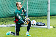 Peter Gulacsi pictured during Hungary training at Steinbergstadion, Leogang, Austria.<br /> Picture by EXPA Pictures/Focus Images Ltd 07814482222<br /> 31/05/2016<br /> ***UK &amp; IRELAND ONLY***<br /> EXPA-FEI-160601-4059.jpg