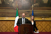 Consultations: Movimento 5 Stelle press conference