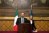 Consultations: Movimento 5 Stelle press conference