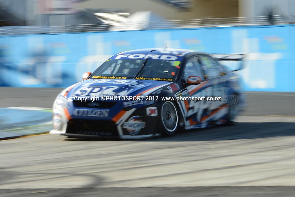 Shane Van Gisbergen in action during  Race 5 of the ITM 400 Hamilton,Hamilton Street Circuit, Day Two, Hamilton City ,V8 supercars,, Photo: Dion Mellow / photosport.co.nz