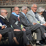 AUSCHWITZ,POLAND 29 JULY: Pope Francis arrives at the Auschwitz Concentration Camp to pay homage to the those who had given their lives and to visit with survivors of the atrocities.