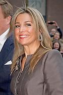 HKH Koningin Maxima oorbellen draagt van het merk LOTT. gioielli.