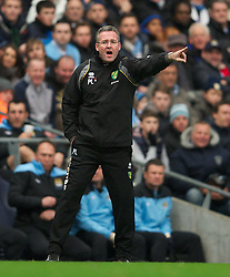 03.12.2011, City of Manchester Stadium, Manchester, ENG, PL, Manchester City vs Norwich City, 14. Spieltag, im Bild Norwich City's manager Paul Lambert // during the football match of english Premier League, 14th round between Manchester City vs Norwich City at City of Manchester stadium, Manchester, ENG on 2011/12/03. EXPA Pictures © 2011, PhotoCredit: EXPA/ Sportida/ David Rawcliff..***** ATTENTION - OUT OF ENG, GBR, UK *****