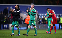 File photo dated 15-02-2019 of Watford's Will Hughes applauds the fans after the final whistle of the Emirates FA Cup fifth round match at Loftus Road, London.