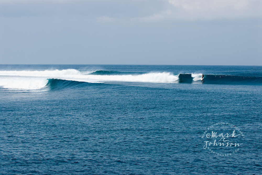 Lance's Left surfing spot in the Mentawai Islands, Indonesia