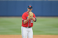Ole Miss' Austin Wright (22) pitches vs. Lipscomb at Oxford-University Stadium in Oxford, Miss. on Sunday, March 13, 2011. Wright pitched 8 scoreless innings as Ole Miss won 5-1 to sweep the series and improve to 13-4.