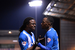 Colchester's Sanchez Watt reacts after his goal was disallowed - Photo mandatory by-line: Mitchell Gunn/JMP - Tel: Mobile: 07966 386802 04/03/2014 - SPORT - FOOTBALL - Colchester Community Stadium - Colchester - Colchester v Rotherham - Sky Bet League 1