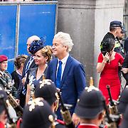 NLD/Den Haag/20180918 - Prinsjesdag 2018, Geert Wilders en Fleur Agema