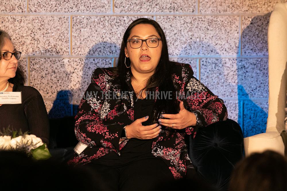 Senator Antoinette Sedillo Lopez, Senator Juli Gonzales