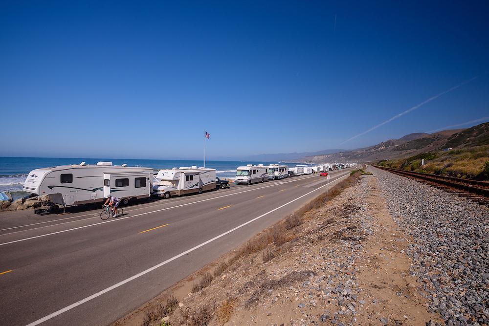 Ricon Parkway Park, RV Camping, Ventura, California