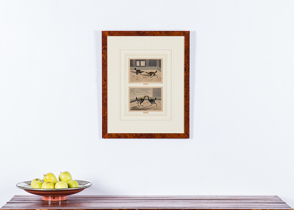 RENTAL COST R450<br /> 19th century print originally etched by C.R. Stock