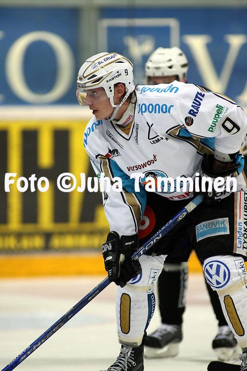 16.10.2008, Turkuhalli, Turku..J??kiekon SM-liiga 2008-09..TPS - Pelicans.Olli Julkunen - Pelicans.©Juha Tamminen.....ARK:k