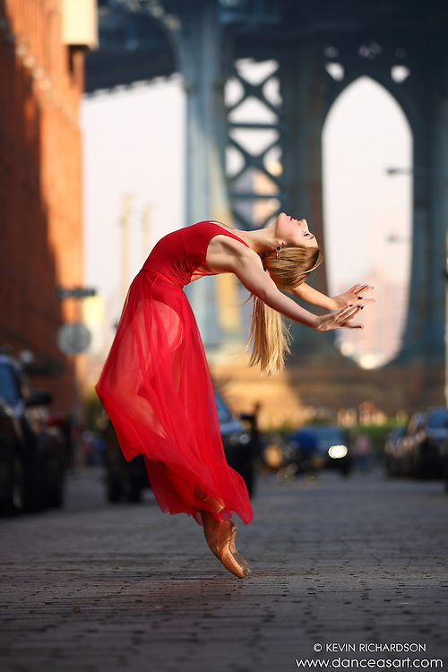 Dance As Art  New York City Photography Dumbo Series with Mykaila Symes