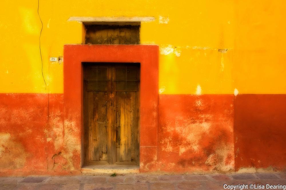 Adobe Walls, Guanajuato, Mexico