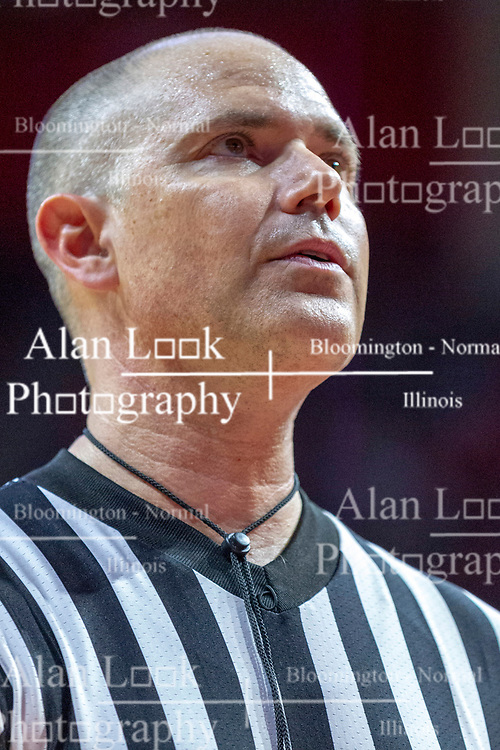NORMAL, IL - February 16:  Jeff Malham during a college basketball game between the ISU Redbirds and the Bradley Braves on February 16 2019 at Redbird Arena in Normal, IL. (Photo by Alan Look)