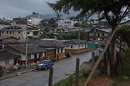 Salento, Quind&iacute;o, Colombia - 04.09.2016        <br /> <br /> Impression of the Colombian coffee region.The small village Salento,  in the central range of the Colombian Andes Mountains,  is a popular tourist spot, also because it has reserved the traditional architecture of the coffee area.<br /> <br /> Eindruecke aus der kolumbianische Kaffeeanbauregion. Das kleine Dorf Salento, in der Zentralkordillere der kolumbianischen Anden, lockt zahlreiche Touristen an, auch weil es die traditionelle Architektur der Region bewahrt hat. <br /> <br /> Photo: Bjoern Kietzmann