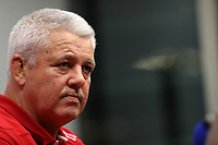 Rugby Union - 2017 British & Irish Lions Tour of New Zealand - British & Irish Lions <br /> <br /> Warren Gatland, the Lions head coach faces the media a media conference at Meridian Energy.<br /> <br /> COLORSPORT/LYNNE CAMERON