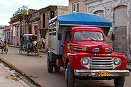 Transportation in Cardenas, Matanzas, Cuba.