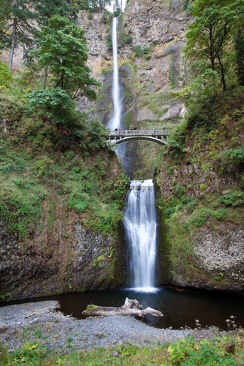 National Geographic Sea Lion's Columbia River Expedition in the Pacific Northwest in the Columbia River Gorge. Multnomah Falls, one of the most iconic waterfalls in the Gorge.