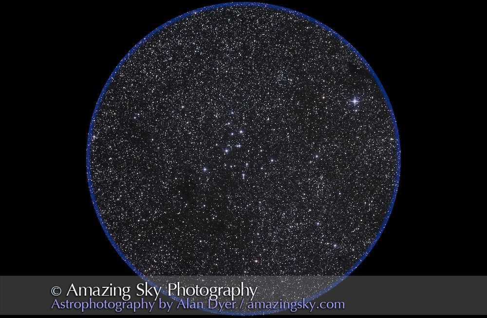 M39 open cluster in Cygnus. Taken Oct 30, 2010 with 105mm A&M apo refractor at f/5 with Borg .85x flattener/reducer and Canon 5DMkII at ISO 800 for stack of 5 x 10 minute exposures, Median combined. Used Celestron CGEM mount and NexGuider on William Optics 66mm guidescope. All seemed to work well.