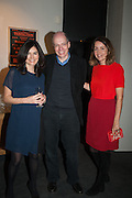 ELEONORE DRESCH; ALAIN DE BOTTON; CHARLOTTE DE BOTTON, The Culture Whisper Launch party. Royal College of art. Royal College of Art, Kensington Gore. London. 28 January 2014