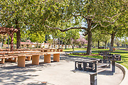 Picnic Area at Hart Park in Orange California