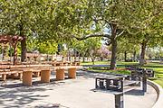 Picnic Area at Hart Park in Orange California