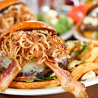 Bacon burger, Food Photography, Tucson