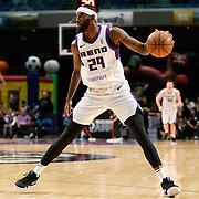 Reno Bighorns Forward JAKARR SAMPSON (29) during the Western Conference Semi-Final NBA G-League Basketball game between the Reno Bighorns and the South Bay Lakers at the Reno Events Center in Reno, Nevada.
