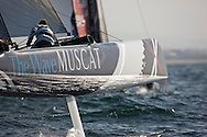 Extreme Sailing Series 2011. Leg 1. Muscat. Oman.The Wave Muscat during a practice day.