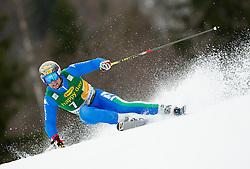 SIMONCELLI Davide of Italy competes during the 1st Run of 7th Men's Giant Slalom - Pokal Vitranc 2013 of FIS Alpine Ski World Cup 2012/2013, on March 9, 2013 in Vitranc, Kranjska Gora, Slovenia. (Photo By Vid Ponikvar / Sportida.com)
