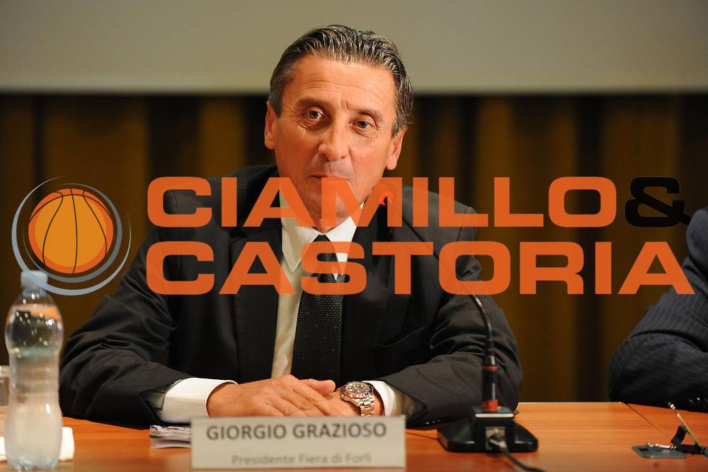 DESCRIZIONE : Forli Lega A 2011-2012 Presentazione Supercoppa Italiana Montepaschi Siena Bennet Cantu<br /> GIOCATORE : Giorgio Grazioso<br /> SQUADRA : <br /> EVENTO : Supercoppa Italiana 2011<br /> GARA : Montepaschi Siena Bennet Cantu<br /> DATA : 26/09/2011<br /> CATEGORIA : <br /> SPORT : Pallacanestro <br /> AUTORE : Agenzia Ciamillo-Castoria/M.Marchi<br /> Galleria : Lega Basket A 2011-2012 <br /> Fotonotizia : Forli Lega A 2011-2012 Presentazione Supercoppa Italiana Montepaschi Siena Bennet Cantu<br /> Predefinita :
