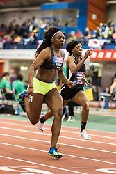 New Balance High School National Indoor Track & Field Championships: girl's 60 final, Teahna Daniels, FL