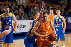 Blaz Mahkovic of KK Helios Suns during basketball match between KK Helios Suns and KK Sencur in Playoffs of Liga Nova KBM 2017/18, on April 7, 2018 in Domzale, Slovenia. Photo by Urban Urbanc / Sportida