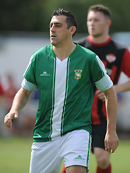 Paul Edgeworth, Aylesbury Utd, Kettering Town v Aylesbury Utd, Southern League, Burton Park, Kettering, 9th August 2014