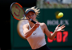 May 19, 2018 - Rome, Italy - Tennis WTA Internazionali d'Italia BNL quarter-finals.Elina Svitolina (UKR) at Foro Italico in Rome, Italy on May 19, 2018. (Credit Image: © Matteo Ciambelli/NurPhoto via ZUMA Press)
