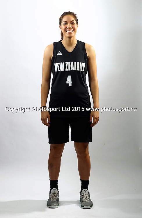 Kalani Purcell, Tall Ferns photoshoot, New Zealand international basketball team portraits. Bruce Pullman Lodge, Auckland. 23 July 2015. Photo: William Booth / www.photosport.nz