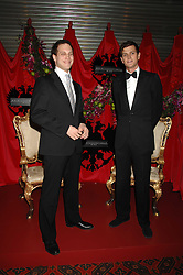 Left to right, LORD FREDDIE WINDSOR and the HON.ALEXANDER SPENCER-CHURCHILL at The Diner Des Tsars in aid of Unicef to celebrate the launch of Quintessentially Wine held at the Guildhall, London EC2 on 29th March 2007.<br /><br />NON EXCLUSIVE - WORLD RIGHTS