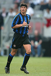 JAVIER ZANETTI.INTER MILAN.SONY AMSTERDAM TOURNAMENT.AMSTERDAM ARENA,AMSTERDAM,HOLLAND.01/08/2003.DID14420
