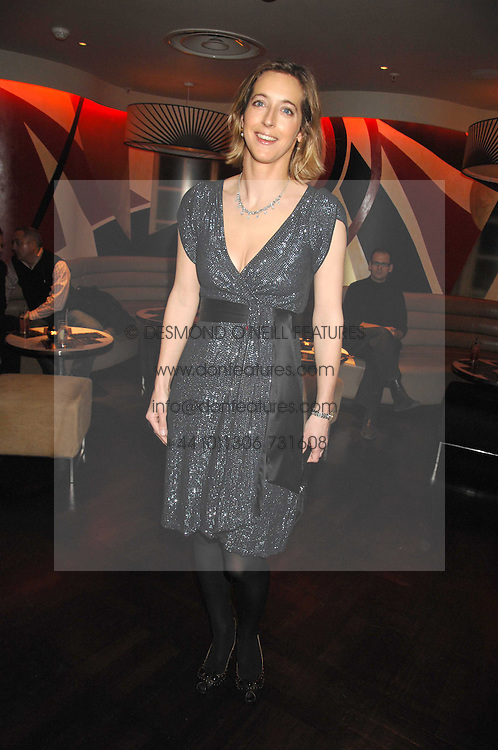 COUNTESS ANASTASIA TOLSTOY-MILOSLAVSKY at a party to celebrate the Russian New Year in association with Stolichnaya vodka held at Harvey Nichols, London on 14th January 2008.<br /> <br /> NON EXCLUSIVE - WORLD RIGHTS