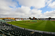 The County Ground before the 4th days play in the Specsavers County Champ Div 1 match between Somerset County Cricket Club and Middlesex County Cricket Club at the Cooper Associates County Ground, Taunton, United Kingdom on 28 September 2017. Photo by Graham Hunt.