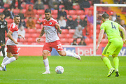 Barnsley Alex Mowatt (27) in action during the Pre-Season Friendly match between Barnsley and Sheffield United at Oakwell, Barnsley, England on 27 July 2019.