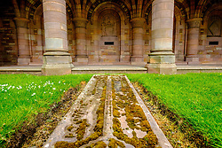 The Roxburghe Memorial Cloister – built in the 1930s to commemorate the 8th Duke of Roxburghe, Kelso Abbey, Scottish Borders<br /> <br /> (c) Andrew Wilson | Edinburgh Elite media