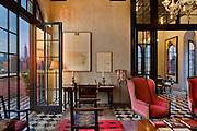 Triplex, Julian Schnabel's Palazzo Chupi, Greenwich Village, NY